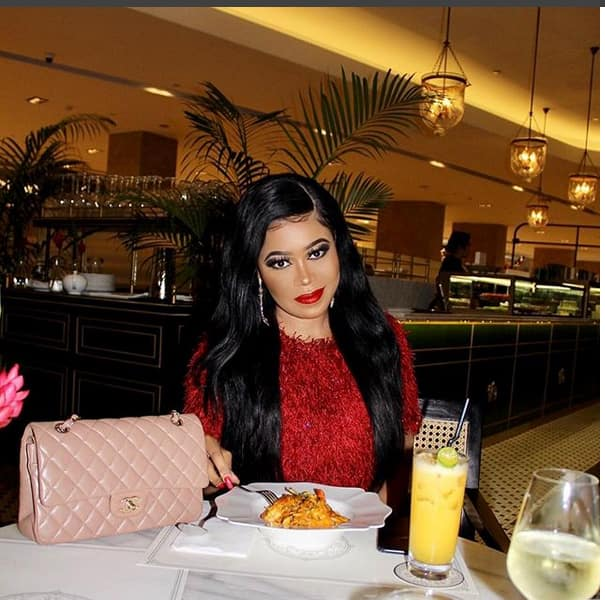 Vera Sidika's unending tours lands her seat with Kendall Jenner