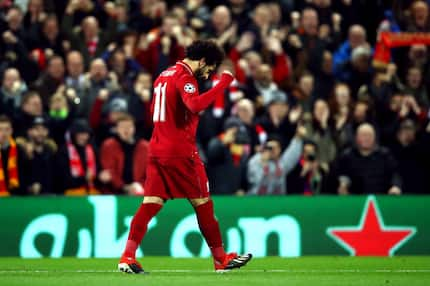 Football fans left baffled after Mo Salah refuses to celebrate scoring against Napoli