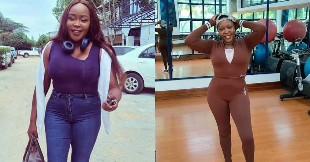 Terryanne Chebet is hitting the gym.