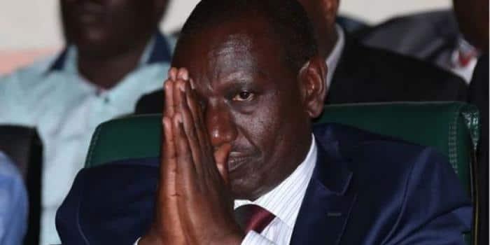Jubilee MP warns Kenyans against electing William Ruto president in 2022