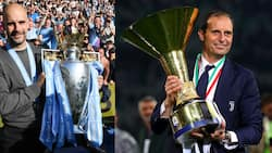 Pep Guardiola denies plans to leave Man City for a 4-year deal with Juventus