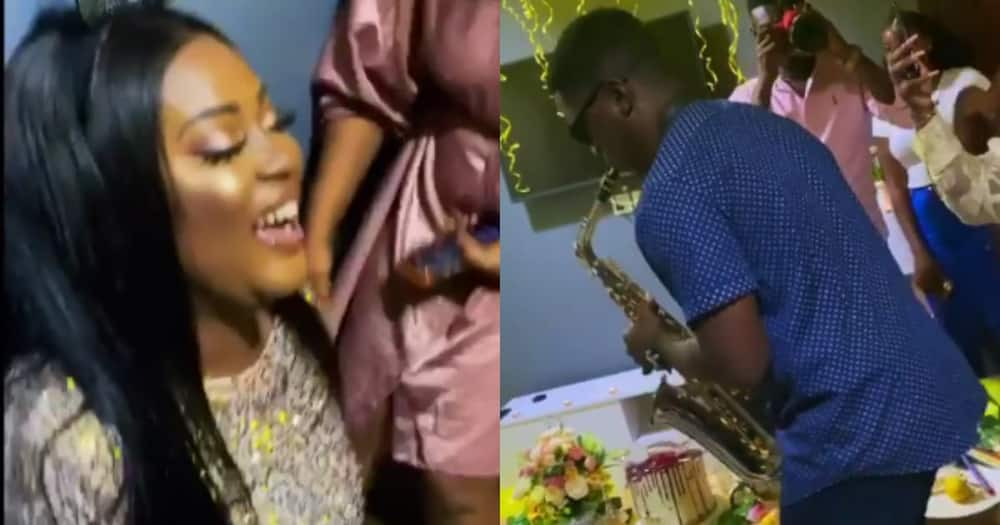 Why I Love You - Pretty lady screams for joy as she gets b'day surprise of her life in video
