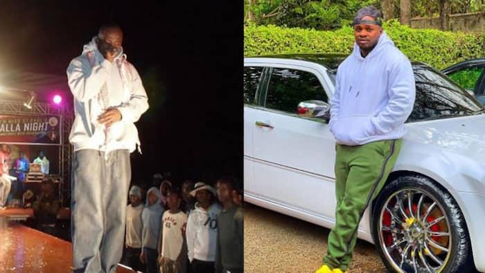 "Khaligraph Jones Recalls Being Chased Away from Stage while Performing: ""Kama Burukenge"""
