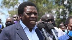 CS Eugene wamalwa leads Western leaders in mourning Kaburengu accident victims