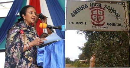 Matokeo ya wanafunzi 7 wa Ambira Boys waliomtusi Matiang'i, Amina