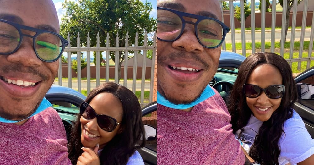 What co parenting looks like: Single dad shares post about baby mama