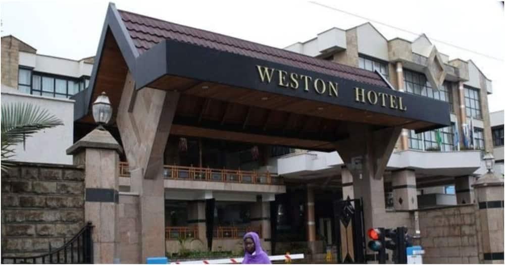 Deputy President William Ruto's Weston Hotel. Photo: Weston Hotel.