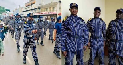 New Zambia officers' uniform leaves Kenyans in stitches