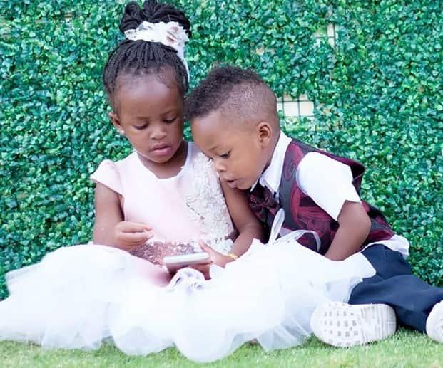 Diamond Platnumz and Zari Hassan's kids