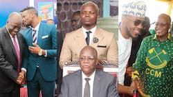 9 Photos of Late John Magufuli with Tanzanian Artistes that Showed His Love for Creative Arts