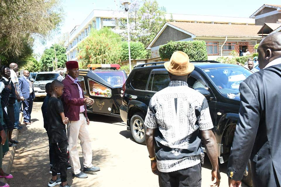 The who is who grace funeral of father to William Ruto's PA, Farouk Kibet