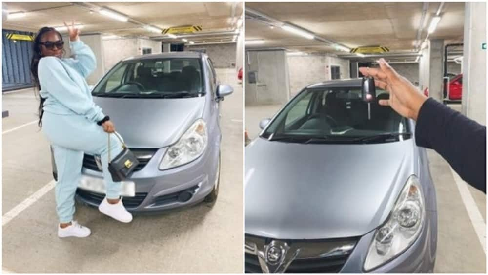 A collage showing the car. Photo source: @AnnieDreaXO