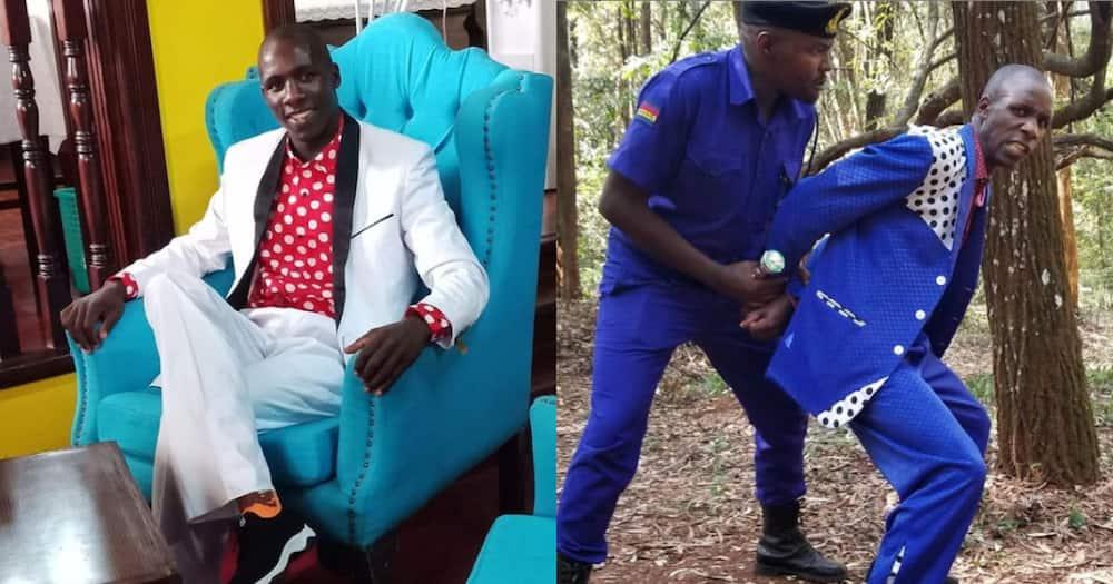 Kisii gospel singer Embarambamba's daredevil antics new video tickles Kenyans