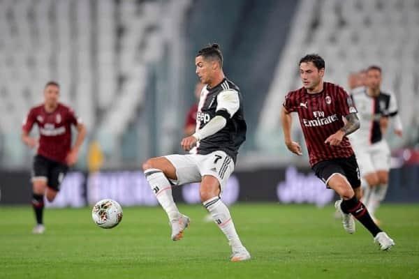 Juventus vs Milan: Ronaldo misses penalty as Old Lady advance to Coppa Italia final