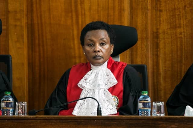 Mwilu said the energy being applied in her case by DPP and DCI was not of public interest. Photo: JSC