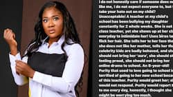 Nollywood Actress Mercy Johnson Upset by Mean Remarks Made by Teacher to Daughter, Vows to Take Action