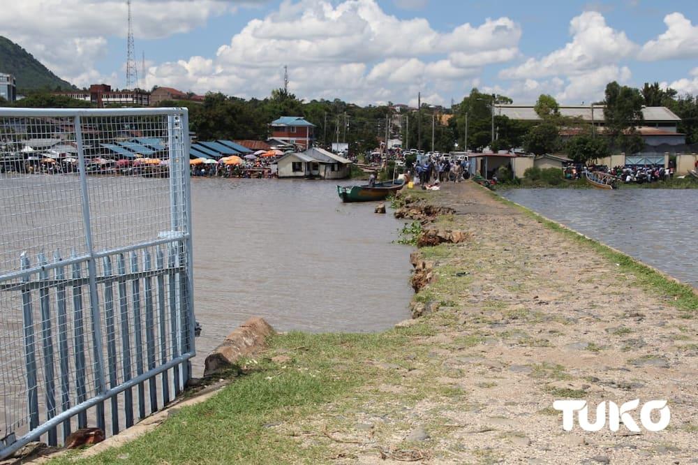 Kenyans sue Uganda after Lake Victoria waters spill over, displace Kisumu residents