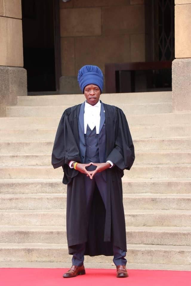 I and I! Rastafaari Mathenge Mukundi ahitimu kuwa wakili