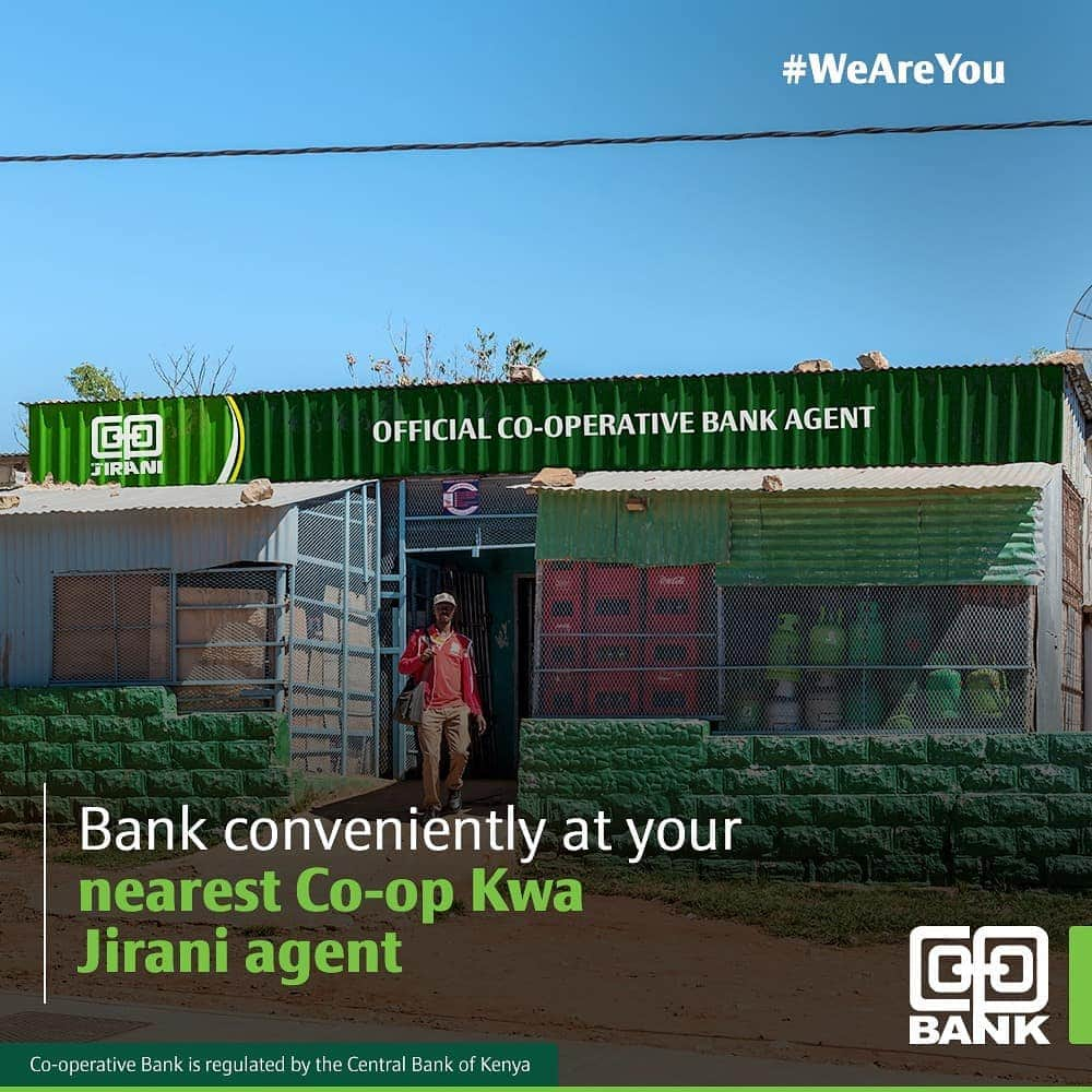 How to become a Co-operative Bank agent