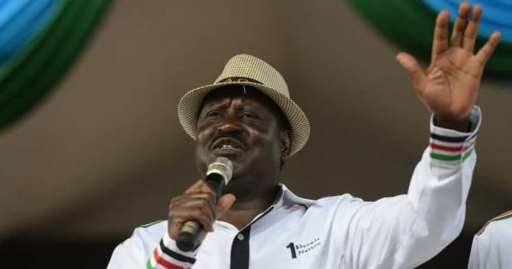 ODM leader Raila Odinga was in Nakuru where he met his supporters.