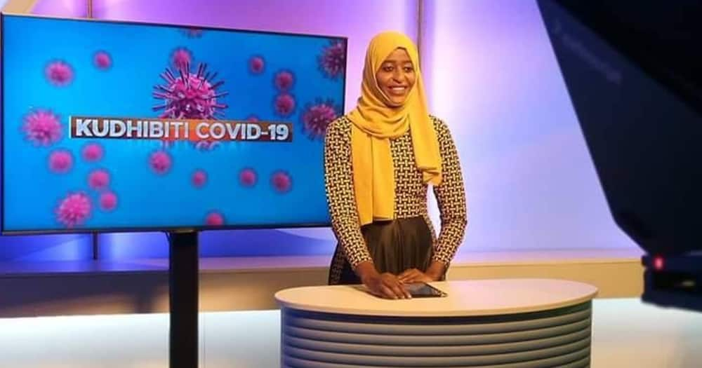 News Anchor Hadiya Mwasiwa thanked Switch TV for giving her the opportunity.