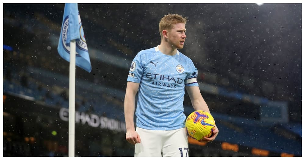 Blow for Manchester City as Kevin De Bruyne ruled out for six weeks with injury