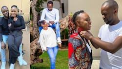 5 Delightful Photos of Gospel Singer Evelyn Wanjiru, Her Hubby Agundabweni