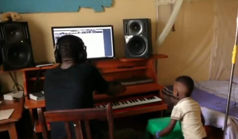 Eldoret music producer turns bedroom into studio after for lacking rent