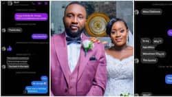 Lady Shoots Her Shot at Man on Facebook and Marries Him, Screenshots of Their Chats Cause Stir