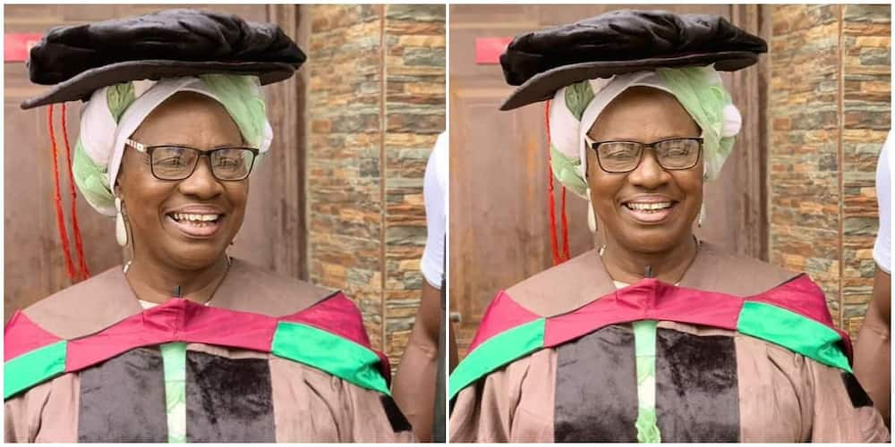 Mama Rainbow bags honorary degree from university. Photo: @mamarainbowofficial.