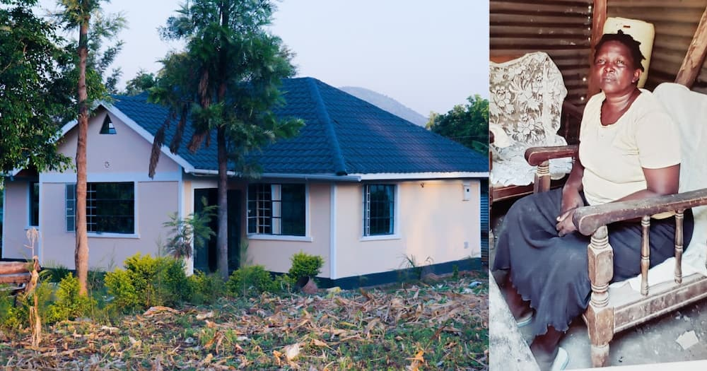 YY Comedian Gleeful After Completing House He is Building For His Mom