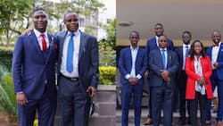 Marco Laboso Shares Cute Family Photos Moments after Taking Oath as Daystar Student Leader