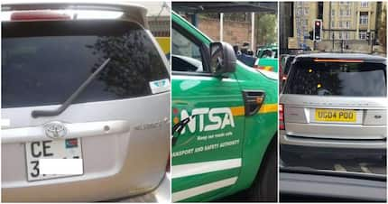 NTSA sounds warning to Kenyans driving cars with foreign number plates