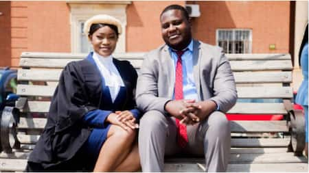 My Lovely Wife Called to the Bar, Man Gushes Over His Wife as She Becomes Lawyer