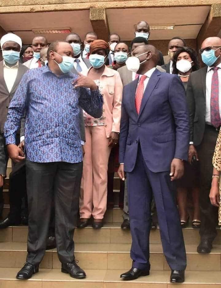 Huyu ni kiongozi wa upinzani sasa, Mbunge Ngunjiri amtania DP Ruto