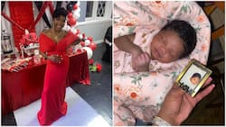 Reincarnation: Woman gives birth, says baby looks like her brother who died years ago, shares photos of them
