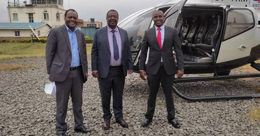 Cleophas Malala indicated Musalia Mudavadi may go for the presidency in 2022.
