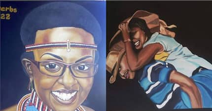 Max Gichane, the visual artiste doing wonders with his pencil