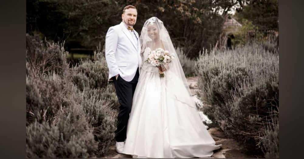Anita Nderu got married on Thursday 9 to Barrett Raftery. Photo: Anita Nderu.