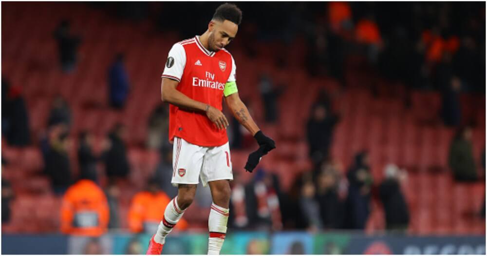 Aubameyang: Mikel Arteta sends warning to striker amid goal drought