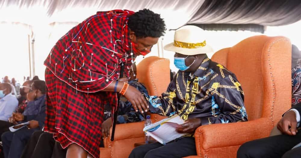 Ledama said Maa community will support Raila.
