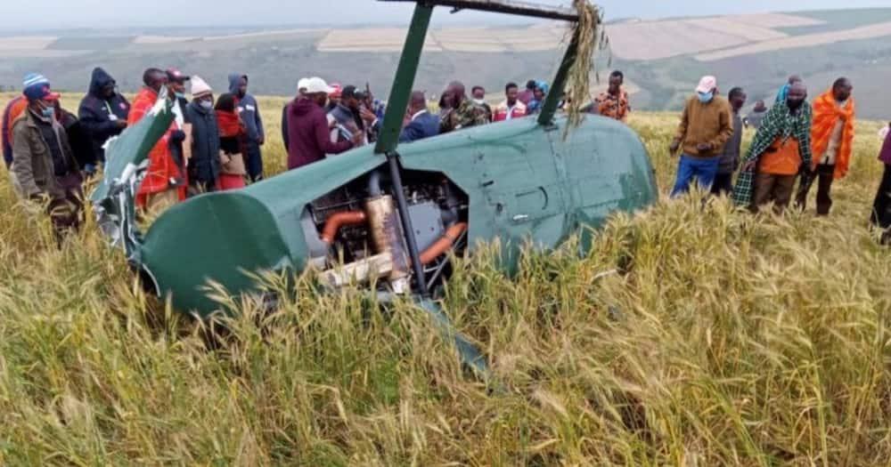 Samuel ole Tunai: Chopper carrying Narok governor, 3 others crashes
