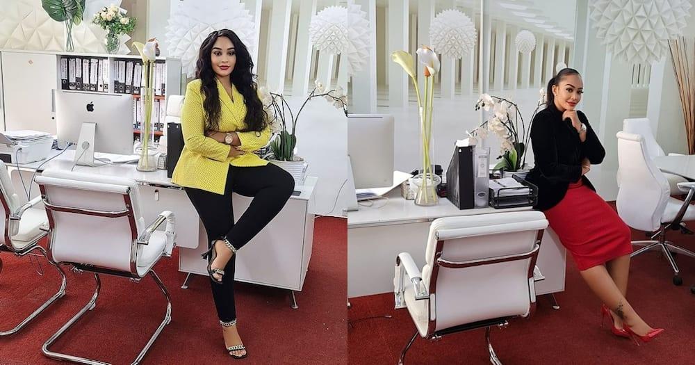 Zari Hassan advises fans to block conmen using her face.