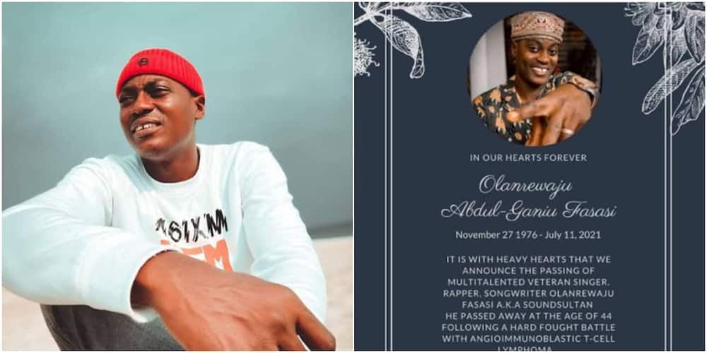 Singer Sound Sultan Dies At 44, 2baba's Manager Efe Omoregbe Announces