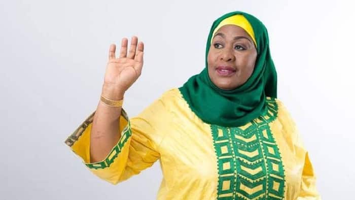 President Samia Suluhu Over the Moon After Baby Is Named After Her