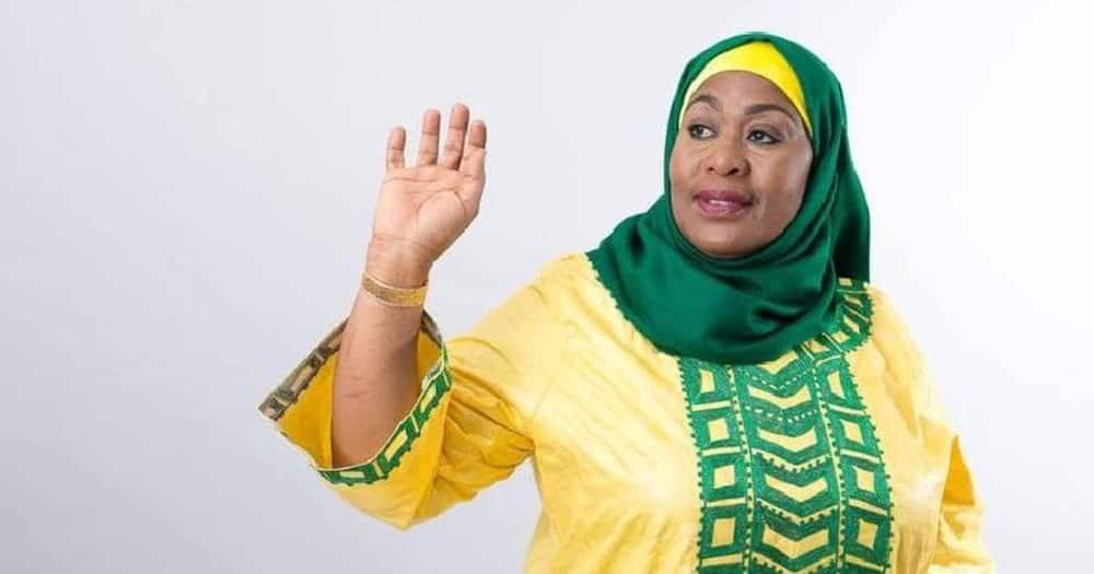 Tanzanian president Samia Suluhu . Photo: Samia Suluhu.