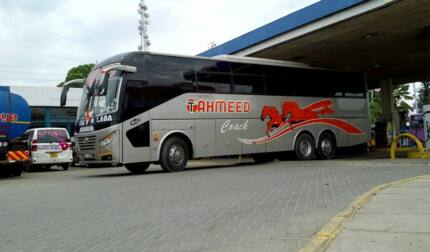 Tahmeed bus online booking, fares and contacts