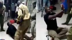 Lodwar: Video of police officers beating up disorderly patient angers netizens