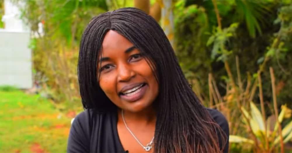 Former Papa Shirandula actress Kawira.