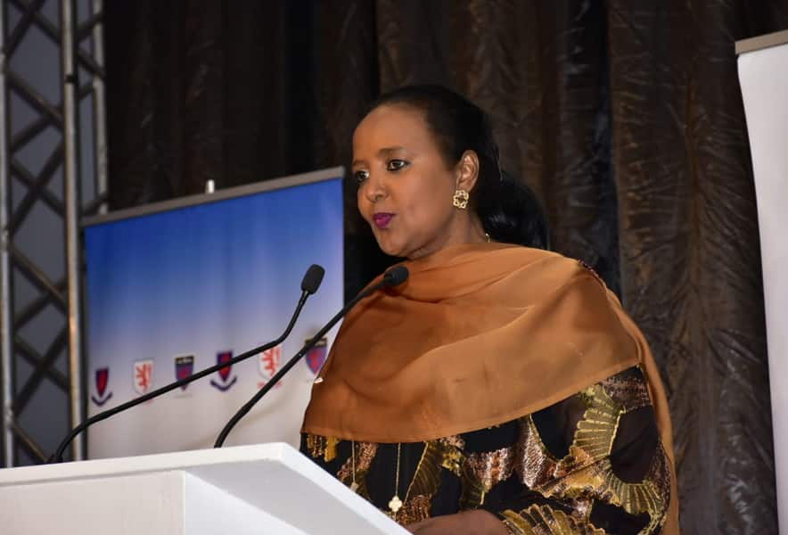 Sports CS Amina Mohammed loses brother who was receiving treatment in India